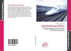 Обложка Kajang Railway Station