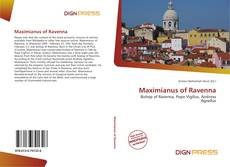 Maximianus of Ravenna kitap kapağı