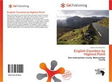 Couverture de English Counties by Highest Point