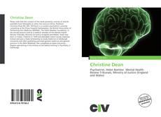 Bookcover of Christine Dean
