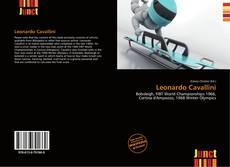 Portada del libro de Leonardo Cavallini