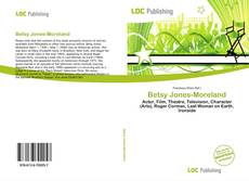 Buchcover von Betsy Jones-Moreland