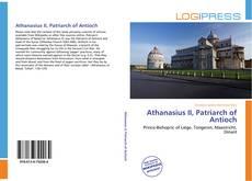Buchcover von Athanasius II, Patriarch of Antioch