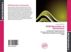 ECW December to Dismember kitap kapağı