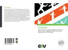 Bookcover of Ali Haider