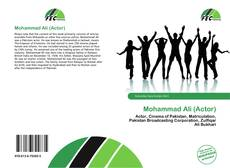 Couverture de Mohammad Ali (Actor)