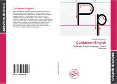 Bookcover of Caribbean English