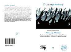 Bookcover of Akhlaq Ahmed