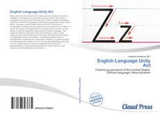 Обложка English Language Unity Act