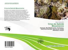 Crise de Salinité Messinienne kitap kapağı