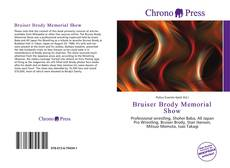 Обложка Bruiser Brody Memorial Show