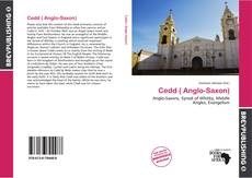 Buchcover von Cedd ( Anglo-Saxon)