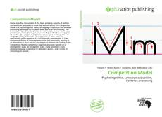 Bookcover of Competition Model