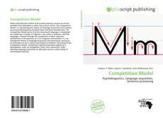 Copertina di Competition Model