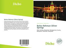 Baitur Rehman (Silver Spring) kitap kapağı