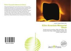 Portada del libro de Killer Kowalski Memorial Show