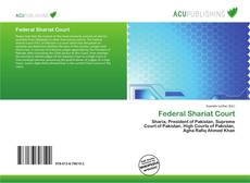Bookcover of Federal Shariat Court
