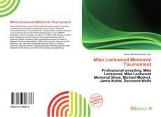 Bookcover of Mike Lockwood Memorial Tournament