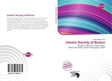 Bookcover of Islamic Society of Boston