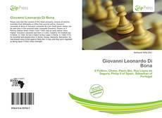 Buchcover von Giovanni Leonardo Di Bona