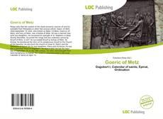 Обложка Goeric of Metz