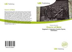 Portada del libro de Goeric of Metz
