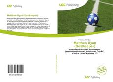 Capa do livro de Matthew Ryan (Goalkeeper)