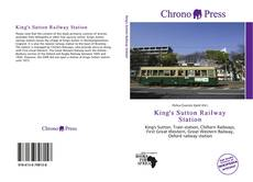 Portada del libro de King's Sutton Railway Station