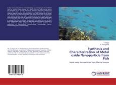 Обложка Synthesis and Characterization of Metal oxide Nanoparticle from Fish