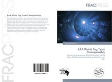 AAA World Tag Team Championship的封面
