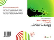 Bookcover of Mosque of Islamic Solidarity