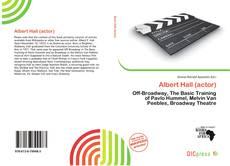 Bookcover of Albert Hall (actor)