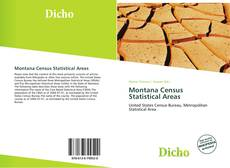 Bookcover of Montana Census Statistical Areas