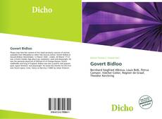 Обложка Govert Bidloo