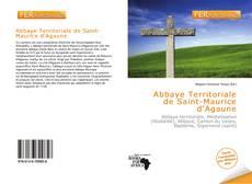 Portada del libro de Abbaye Territoriale de Saint-Maurice d'Agaune
