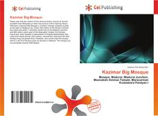 Portada del libro de Kazimar Big Mosque