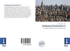 Capa do livro de Antipope Constantine II