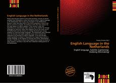 Bookcover of English Language in the Netherlands