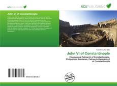 Bookcover of John VI of Constantinople