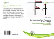 Bookcover of Languages of the Republic of the Congo