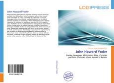 Couverture de John Howard Yoder