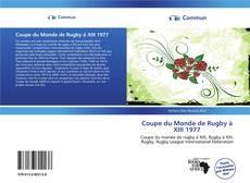 Portada del libro de Coupe du Monde de Rugby à XIII 1977