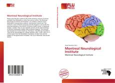 Bookcover of Montreal Neurological Institute