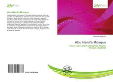 Bookcover of Abu Hanifa Mosque