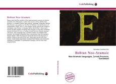 Borítókép a  Bohtan Neo-Aramaic - hoz