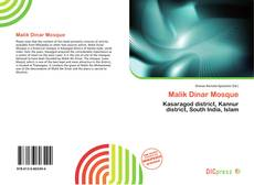 Malik Dinar Mosque kitap kapağı
