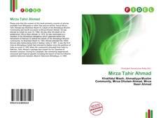 Copertina di Mirza Tahir Ahmad