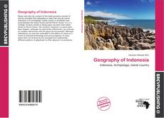 Bookcover of Geography of Indonesia
