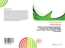 Bookcover of Chest Voice