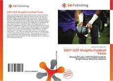 Bookcover of 2007 UCF Knights Football Team